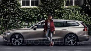 Volvo V60 - leaked side