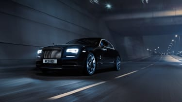 Rolls Royce Black Badge Wraith front