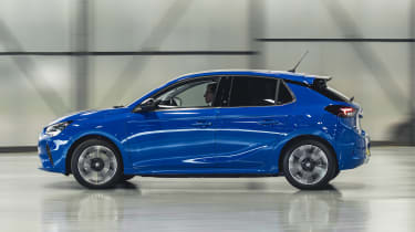 Vauxhall Corsa-e - side