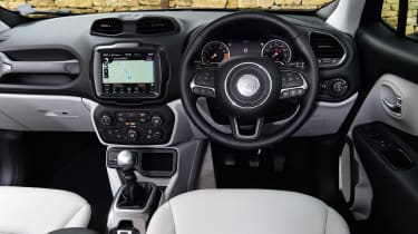 Jeep Renegade - dash