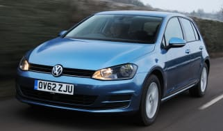 Volkswagen Golf front tracking