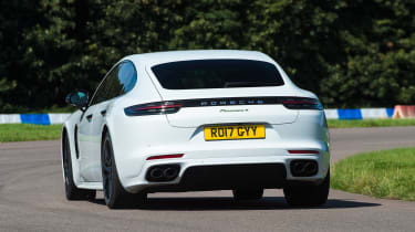 Porsche Panamera 4 E-Hybrid - rear cornering