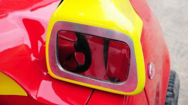 Cosy Coupe replica rear view
