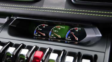 New Lamborghini Huracan buttons