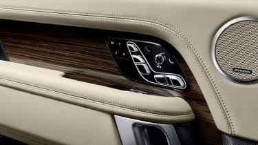 Range Rover review - seats