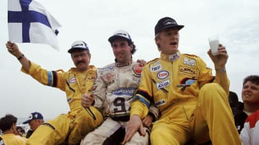 Peugeot Sport - Ari Vatanen interview celebration