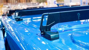 Ford Transit roof bar