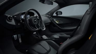 McLaren 570GT MSO Black Collection Interior