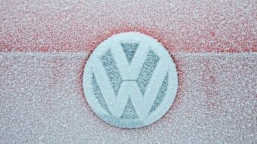 Volkswagen Tiguan badge