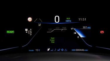 Toyota Mirai - dials
