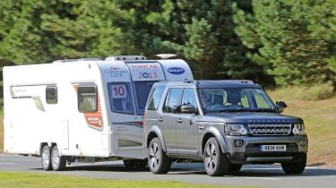 Land Rover Discovery Tow Car of the Year