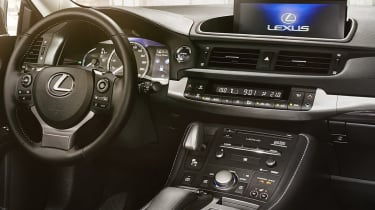 2018 Lexus CT facelift interior