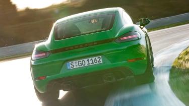 Porsche 718 Cayman GTS 4.0 - rear track