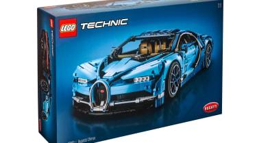 Bugatti Chiron LEGO - box