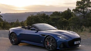 Aston Martin DBS Superleggera Volante - front static