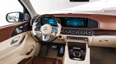 Mercedes-Maybach GLS - dash