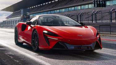 McLaren Artura - track static