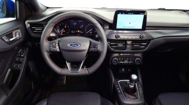 New Ford Focus S-Line studio - dash