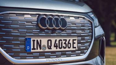 Audi Q4 e-tron Sportback - grille