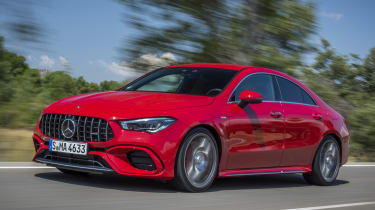 Mercedes-AMG CLA 45 S - front tracking