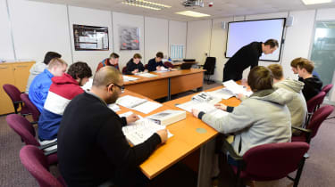 Apprentices - classroom