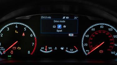 Ford Fiesta ST - dials