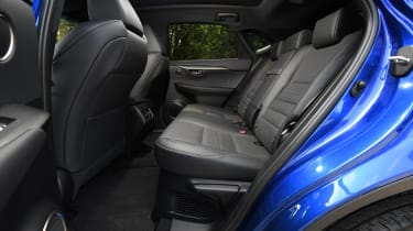 Lexus NX - rear seats