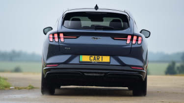 Ford Mustang Mach-E Extended Range AWD - rear cornering