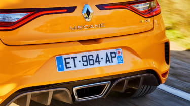 Renault Megane R.S. - rear detail action