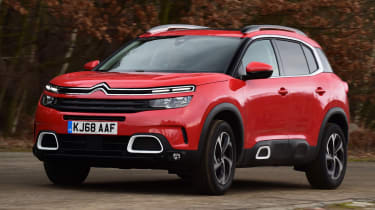 citroen c5 aircross action shot