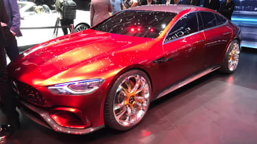 Mercedes-AMG GT Concept show - front