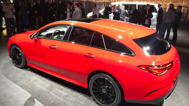 Mercedes CLA Shooting Brake - Geneva rear static