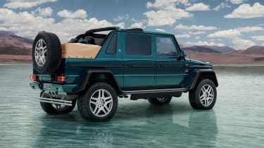 Mercedes-Maybach G 650 Landaulet rear quarter