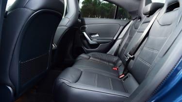 Mercedes-AMG CLA 35 - rear seats