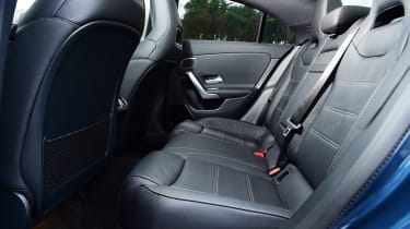 Mercedes-AMG CLA 35 - rear seats