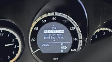 Mercedes E350 dials