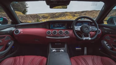 Mercedes-AMG S 63 Coupe - cabin