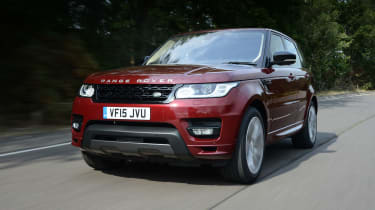 Range Rover Sport - front action