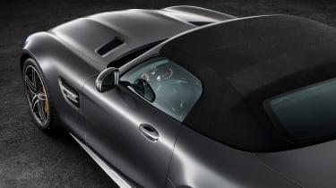 Mercedes-AMG GT C Roadster - roof up