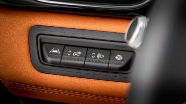 Renault Captur - interior details