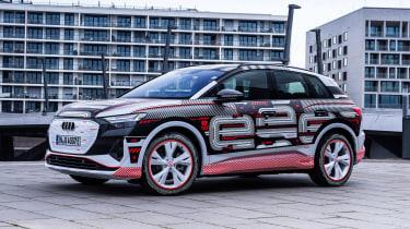 Audi Q4 e-tron prototype - front static