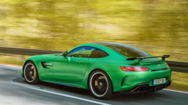 Mercedes-AMG GT R - rear tracking
