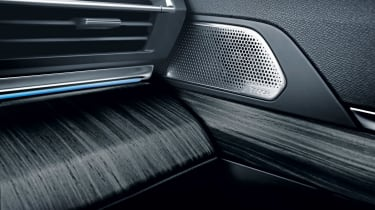 Peugeot 508 i-Cockpit - audio
