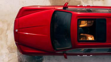 Rolls-Royce Cullinan SUV - overhead