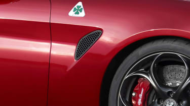 Alfa Romeo Giulia - detail side