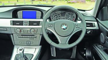 BMW 3-series interior