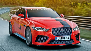 Jaguar XE SV Project 8 - exclusive image