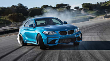 BMW M2 Coupe 2016 - front three quarter drift