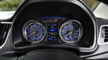 Suzuki Baleno - dials