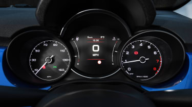 Fiat 500X - dials
